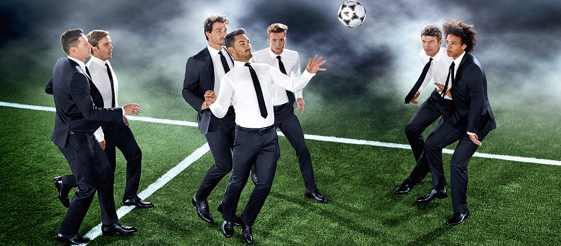 HUGO BOSS OUTFITS WITH THE NATIONAL GERMAN TEAM Football ...